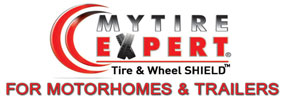 MyTireExpert® Tire & Wheel SHIELD™ for Motorhomes and Trailers