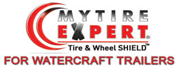 MyTireExpert® Tire & Wheel SHIELD™ for Watercraft Trailers