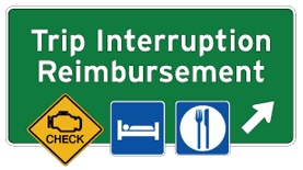 Sonsio's Trip Interruption Reimbursement program logo